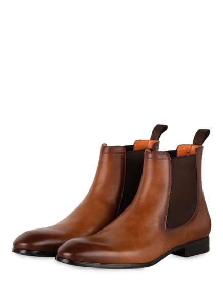 Santoni Chelsea-Boots SIMON, Farbe: COGNAC (Bild 1)