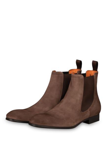 Santoni Chelsea-Boots SIMON , Farbe: TAUPE (Bild 1)