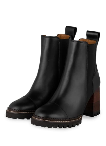 SEE BY CHLOÉ Chelsea-Boots, Farbe: 999 NERO (Bild 1)