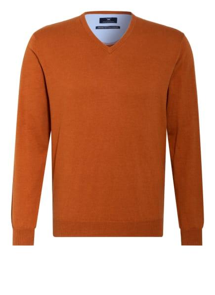 STROKESMAN'S Pullover, Farbe: DUNKELORANGE (Bild 1)