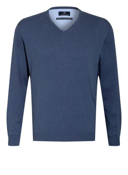 STROKESMAN'S Pullover, Farbe: BLAUGRAU/ BLAU (Bild 1)