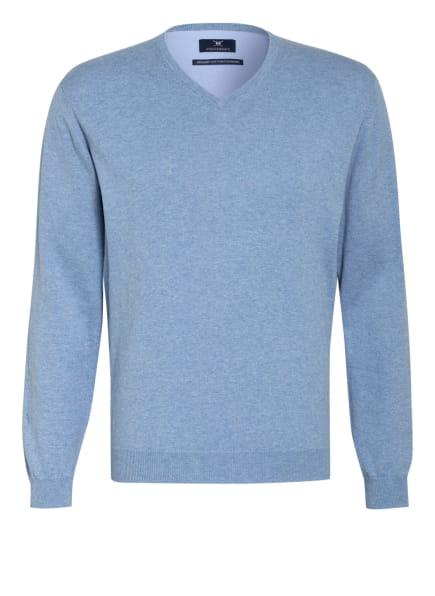 STROKESMAN'S Pullover, Farbe: HELLBLAU (Bild 1)