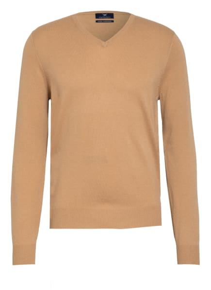 STROKESMAN'S Cashmere-Pullover , Farbe: CAMEL (Bild 1)