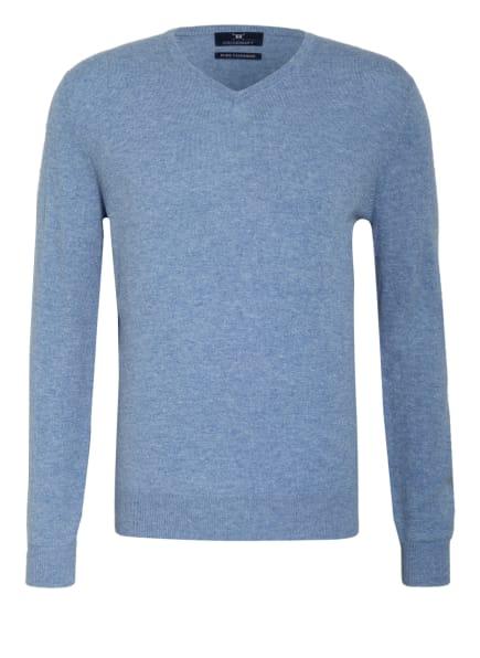 STROKESMAN'S Cashmere-Pullover , Farbe: BLAU/ HELLBLAU (Bild 1)