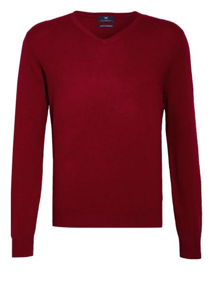 STROKESMAN'S Cashmere-Pullover , Farbe: DUNKELROT (Bild 1)