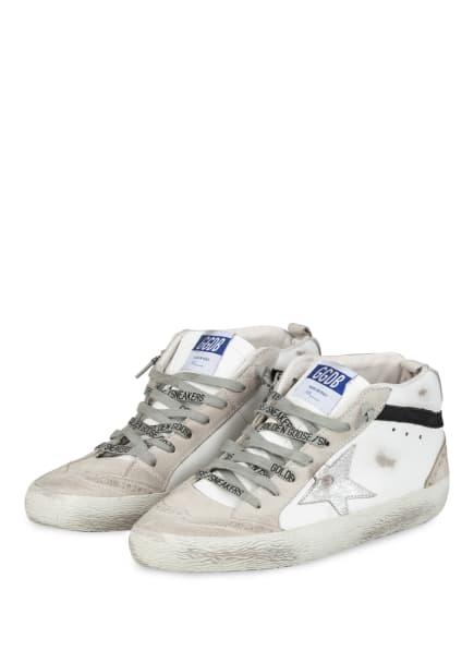 GOLDEN GOOSE DELUXE BRAND Hightop-Sneaker MID STAR, Farbe: WEISS/ HELLGRAU (Bild 1)
