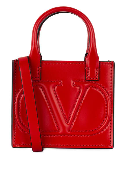 VALENTINO GARAVANI Handtasche MINI VLOGO WALK, Farbe: ROT (Bild 1)