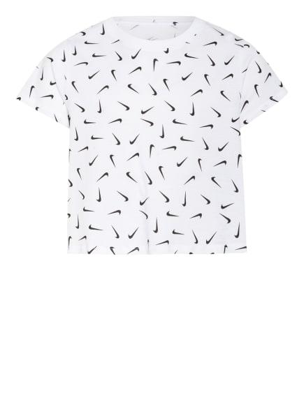 Nike T-Shirt, Farbe: WEISS/ SCHWARZ (Bild 1)