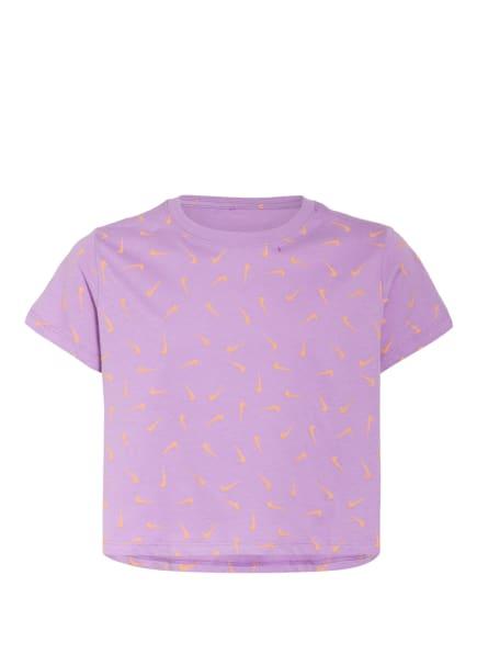 Nike T-Shirt, Farbe: HELLLILA/ ORANGE (Bild 1)