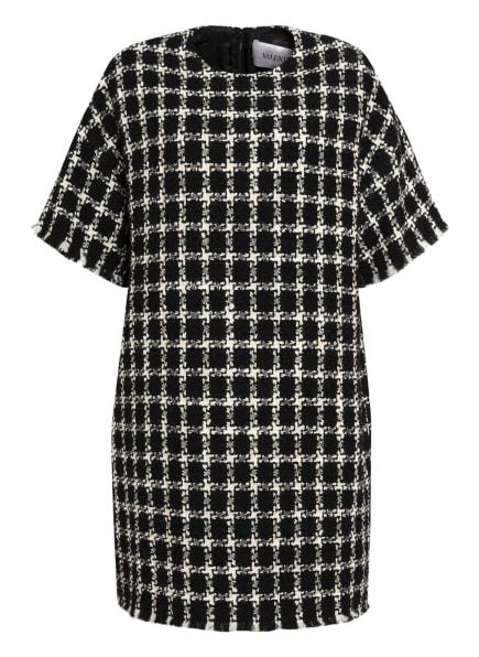 VALENTINO GARAVANI Tweed-Kleid, Farbe: SCHWARZ/ WEISS (Bild 1)