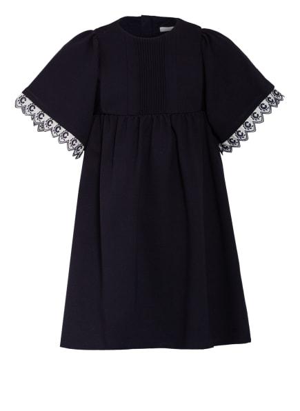 Chloé Jerseykleid, Farbe: DUNKELBLAU (Bild 1)