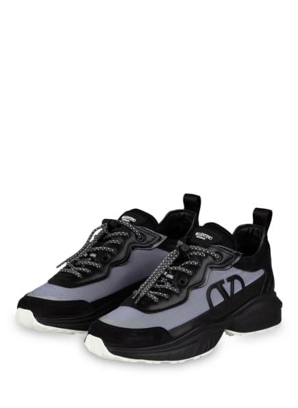 VALENTINO GARAVANI Sneaker, Farbe: SCHWARZ/ GRAU (Bild 1)