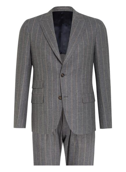 eleventy Anzug Extra Slim Fit, Farbe: HELLGRAU/ CREME (Bild 1)