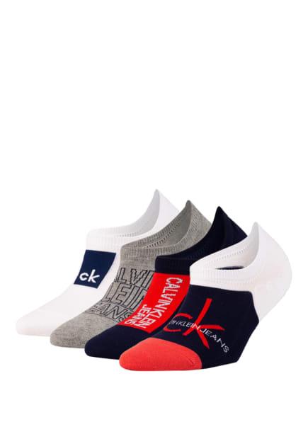 Calvin Klein 4er-Pack Socken , Farbe: 003 WHITE COMBO (Bild 1)