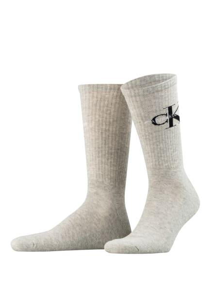 Calvin Klein Strümpfe , Farbe: 003 light grey melange (Bild 1)