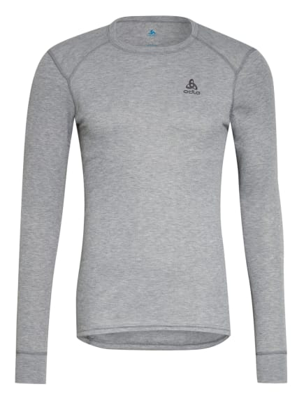 odlo Funktionswäsche-Shirt ACTIVE WARM ECO, Farbe: HELLGRAU/ GRAU (Bild 1)