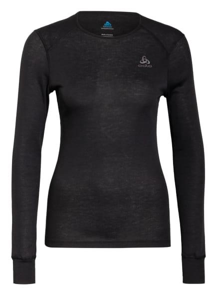 odlo Funktionswäsche-Shirt ACTIVE WARM ECO , Farbe: SCHWARZ (Bild 1)