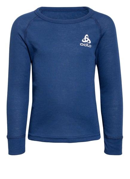 odlo Funktionswäsche-Shirt ACTIVE WARM ECO, Farbe: BLAU (Bild 1)