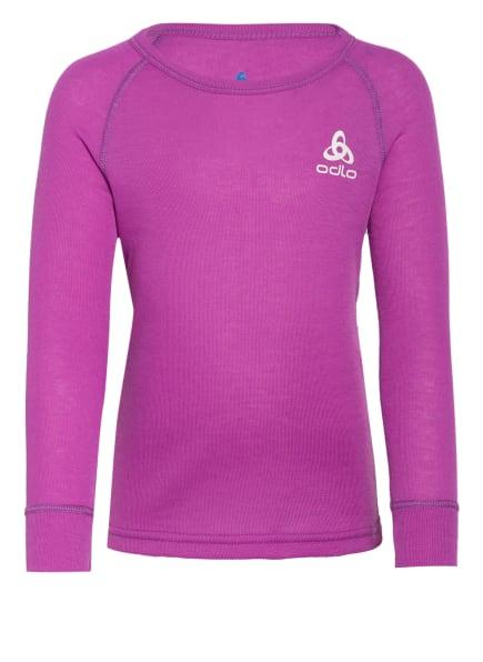 odlo Funktionswäsche-Shirt ACTIVE WARM ECO, Farbe: LILA (Bild 1)