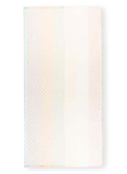 GUCCI Tuch mit Glitzergarn , Farbe: ECRU/ HELLBLAU/ HELLGRÜN (Bild 1)
