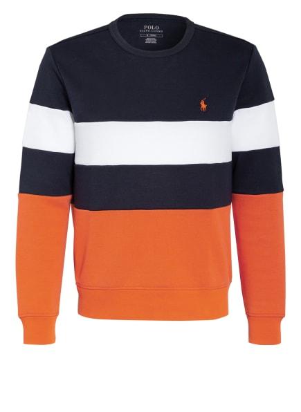 POLO RALPH LAUREN Sweatshirt, Farbe: ORANGE/ SCHWARZ/ WEISS (Bild 1)