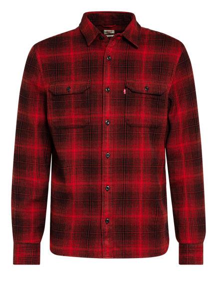 Levi's® Hemd JACKSON Standard Fit, Farbe: ROT/ SCHWARZ (Bild 1)