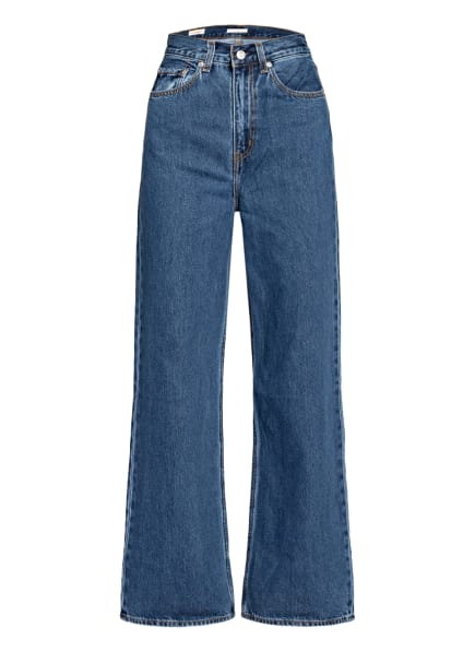 Levi's® Jeans HIGH LOOSE, Farbe: 02 Med Indigo - Flat Finish (Bild 1)