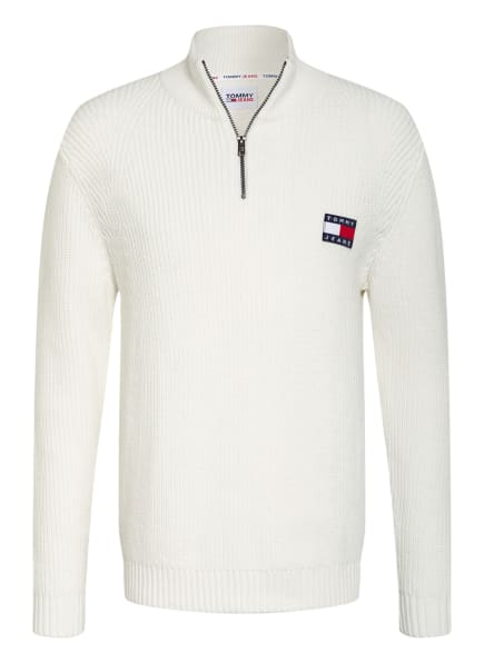 TOMMY JEANS Troyer, Farbe: WEISS (Bild 1)