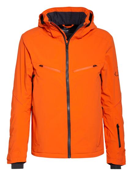 SALOMON Skijacke BRILLIANT, Farbe: ORANGE (Bild 1)