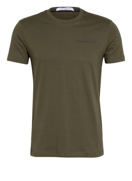 Calvin Klein Jeans T-Shirt, Farbe: OLIV (Bild 1)