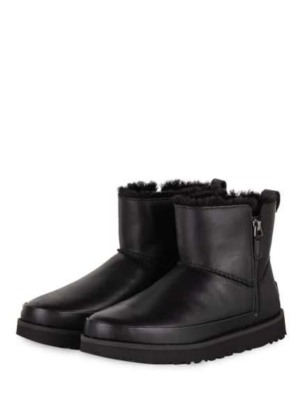 UGG Boots CLASSIC ZIP MINI, Farbe: SCHWARZ (Bild 1)