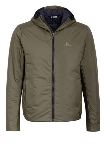 SALOMON Outdoor-Jacke OUTRACK, Farbe: OLIV (Bild 1)
