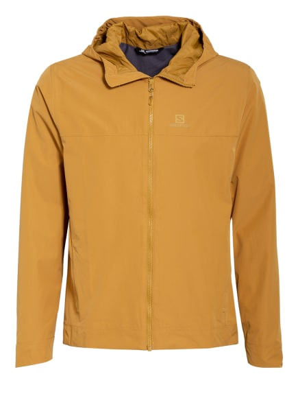 SALOMON Outdoor-Jacke EXPLORE WATERPROOF, Farbe: DUNKELGELB (Bild 1)