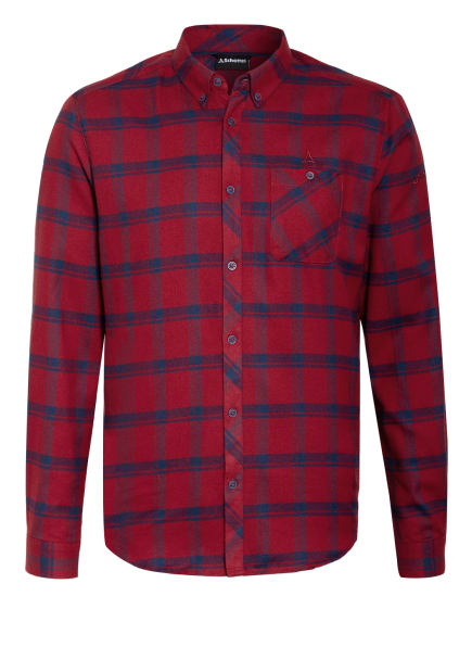 Schöffel Hemd GATESHEAD , Farbe: DUNKELROT/ BLAU (Bild 1)
