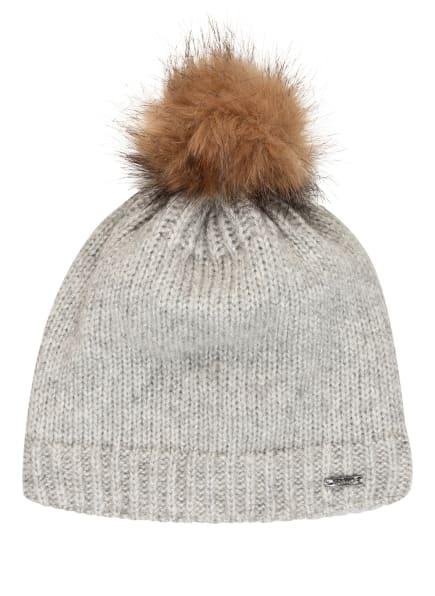 CAPO Mütze mit Alpaka, Farbe: HELLGRAU (Bild 1)