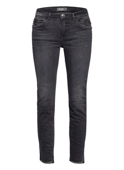 MOS MOSH Jeans SUMNER SAZZ mit Nietenbesatz, Farbe: 850 GREY (Bild 1)
