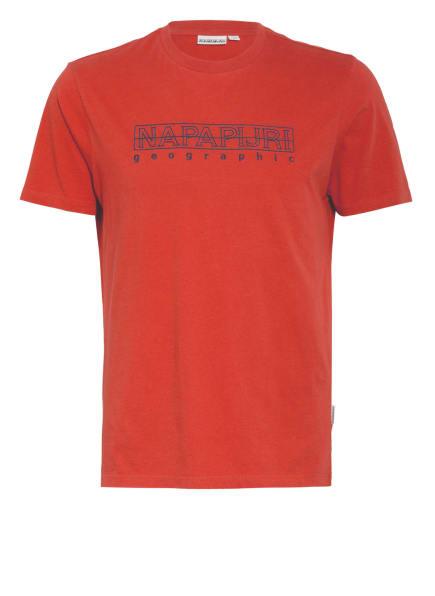 NAPAPIJRI T-Shirt SEBEL, Farbe: DUNKELORANGE (Bild 1)