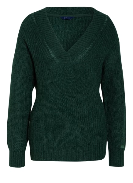 GANT Pullover, Farbe: GRÜN (Bild 1)