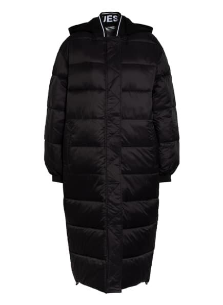 GUESS Mantel zum Wenden REBECCA mit abnehmbarer Kapuze, Farbe: SCHWARZ (Bild 1)