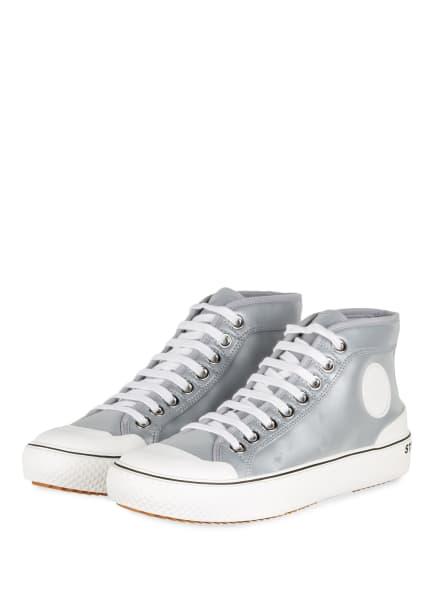 STELLA McCARTNEY Hightop-Sneaker , Farbe: SILBER/ WEISS (Bild 1)