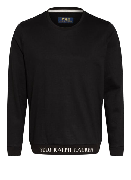 POLO RALPH LAUREN Lounge-Sweatshirt , Farbe: SCHWARZ (Bild 1)
