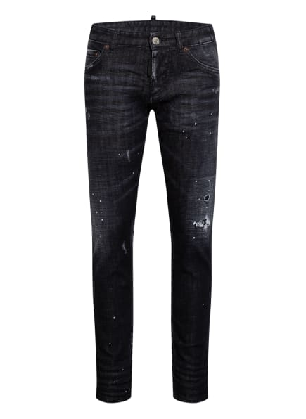 DSQUARED2 Jeans CLEMENT Slim Fit, Farbe: SCHWARZ (Bild 1)
