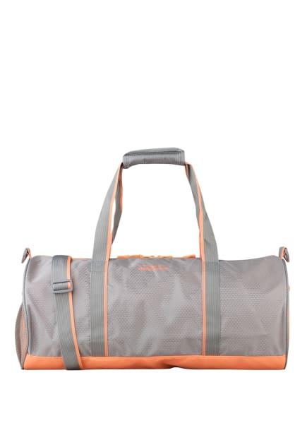 VENICE BEACH Sporttasche, Farbe: HELLGRAU/ HELLORANGE (Bild 1)
