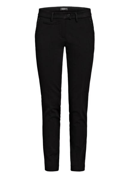 MASON'S Hose mit Nietenbesatz, Farbe: SCHWARZ (Bild 1)