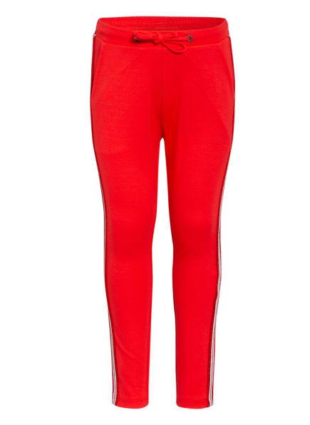 GARCIA Hose im Jogging-Stil mit Galonstreifen, Farbe: ROT (Bild 1)