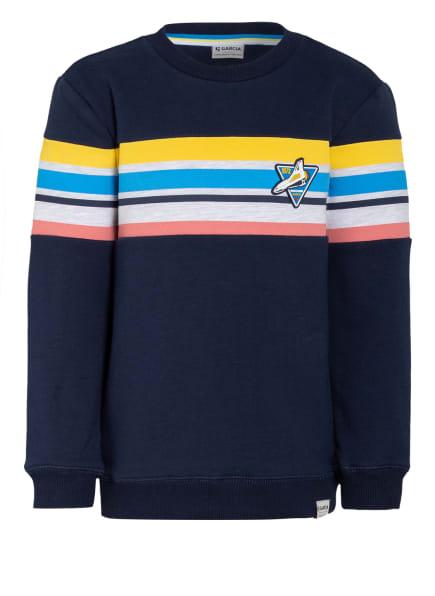 GARCIA Sweatshirt , Farbe: DUNKELBLAU/ GELB/ HELLGRAU (Bild 1)