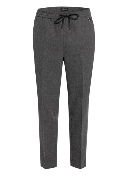 SCOTCH & SODA Hose FAVE im Jogging-Stil Regular Tapered Fit, Farbe: GRAU (Bild 1)