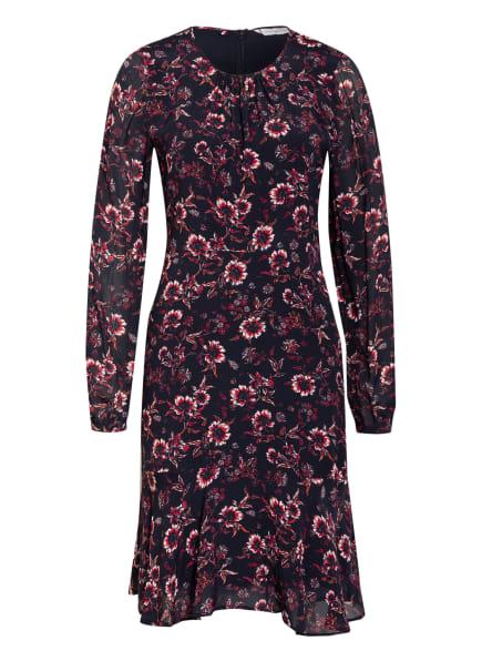 TOMMY HILFIGER Kleid AMIA mit Volantbesatz, Farbe: DUNKELBLAU/ ROT/ WEISS (Bild 1)