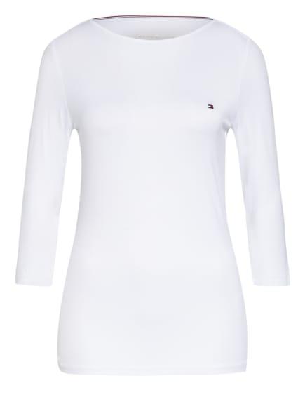TOMMY HILFIGER Shirt mit 3/4-Arm , Farbe: WEISS (Bild 1)