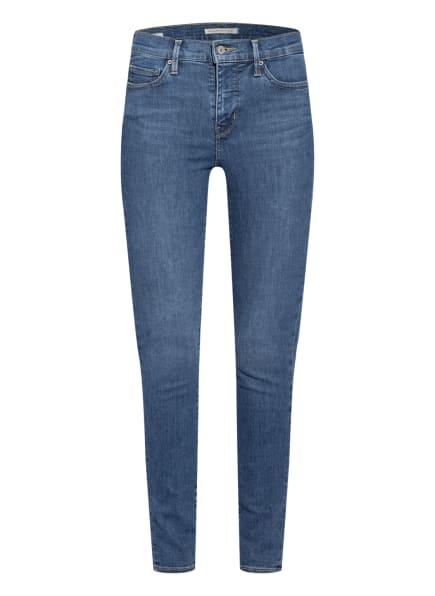 Levi's® Skinny Jeans 310 SHAPING SUPER SKINNY, Farbe: 49 MED INDIGO - WORN IN BLUE (Bild 1)